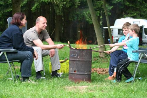 Vuurtje voor de tent